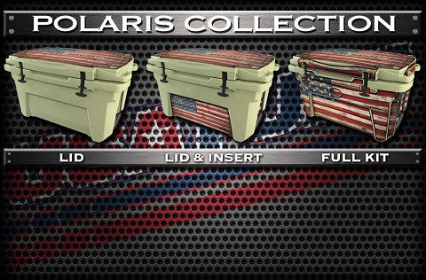 Decals For Polaris Northstar Coolers - Custom Polaris Northstar Cooler