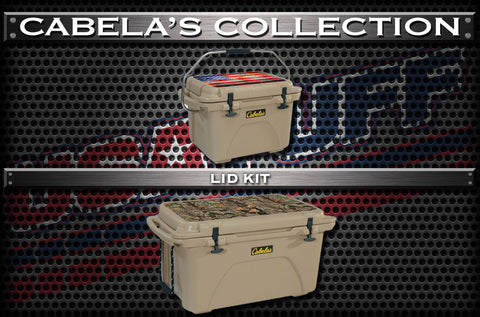 Decals For Cabelas Coolers - Custom Cabelas Cooler