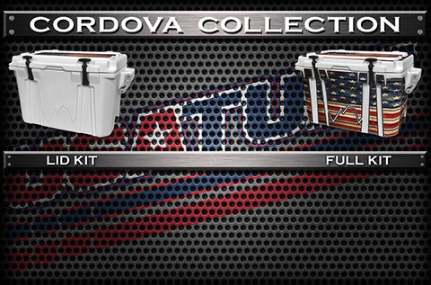 Decals For CORDOVA Coolers - Custom CORDOVA Cooler
