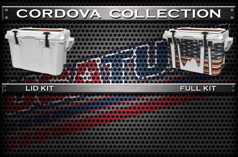 USATuff Cooler Wrap Cooler Skin Kit Decal For Cordova Coolers