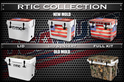 Decals For RTIC Coolers - Custom RTIC Cooler