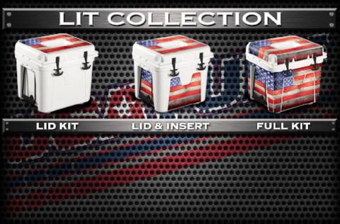 USATuff Cooler Wrap Cooler Skin for LIT Collection