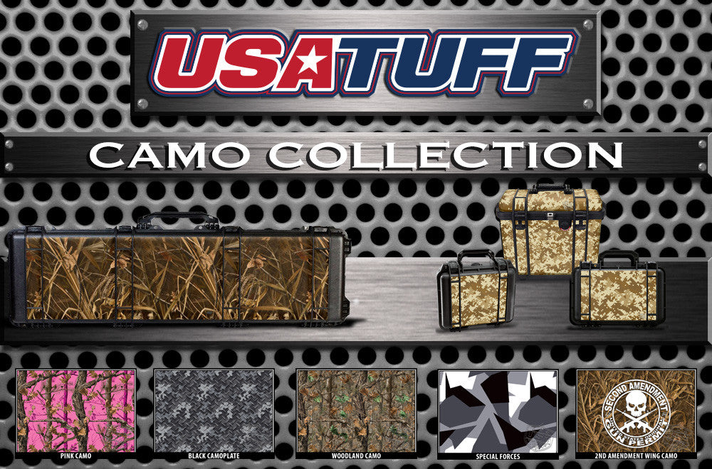 Pelican Gun Case Wrap Decal Kits by USATuff-Camouflage Collection
