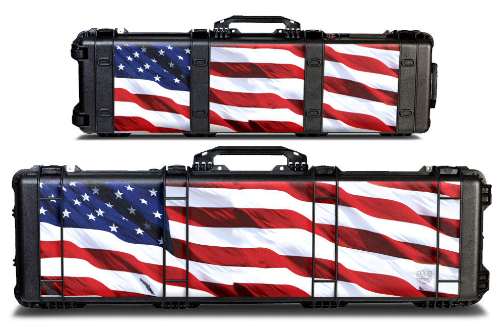 Pelican Gun Case Wrap Decal Kit by USATuff  - USA Stars