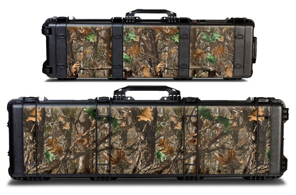 Pelican Gun Case Wrap Decal Kit by USATuff - Woodland Camo