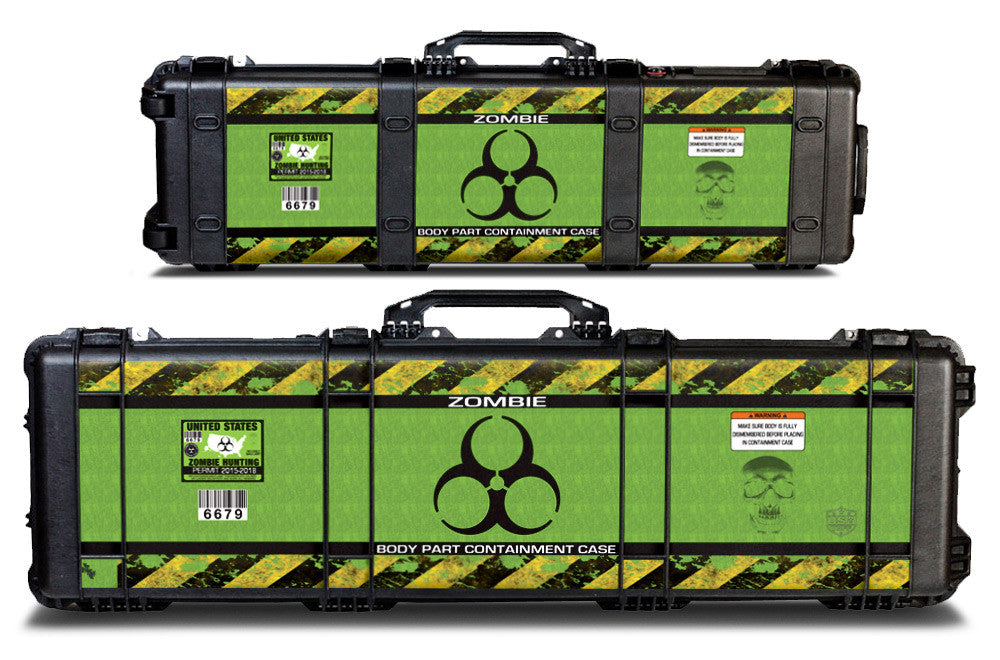 Pelican Gun Case Wrap Decal Kit by USATuff - Zombie
