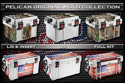 USATuff Cooler Wrap Cooler Skin for Pelican Collection