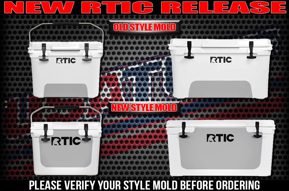 RTIC Coolers - Decal for RTIC Coolers - USATuff
