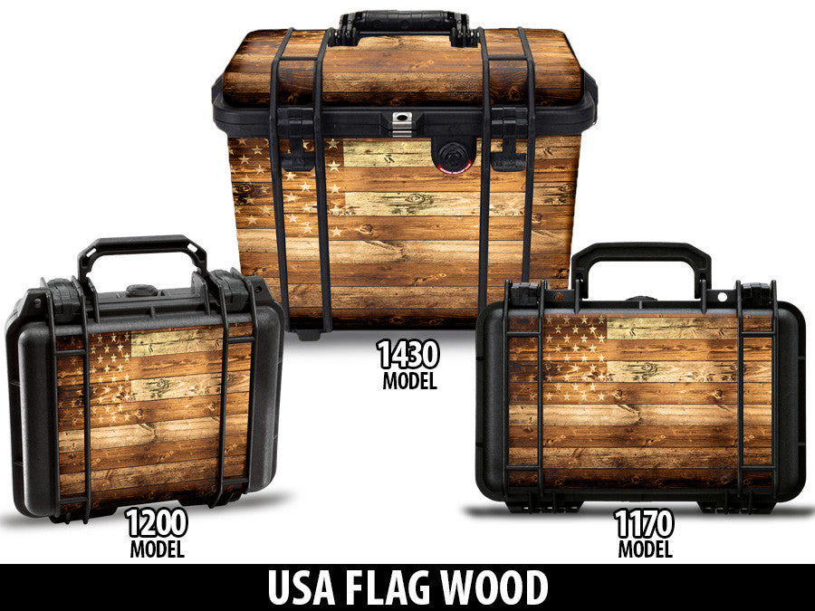 Pelican Gun Case Wrap Decal Kit by USATuff