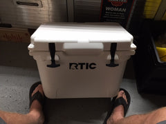 USATuff RTIC Cooler Before Picture
