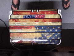 USATuff Custom RTIC Cooler Accessories Old Glory Design