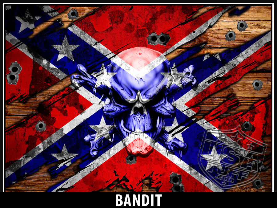 USATuff Yeti Cup Rtic Cup US Bandit Decal Skin Wrap