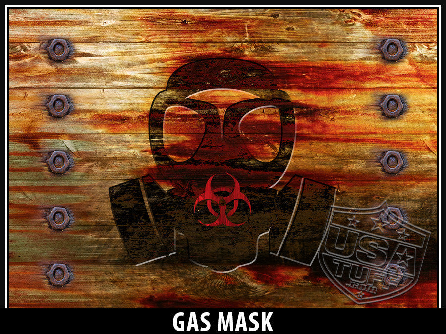 USATuff Yeti Cup Rtic Cup Gas Mask Design Decal Skin Wrap