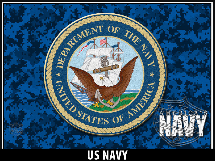 USATuff Yeti Cup Rtic Cup US Navy Decal Skin Wrap