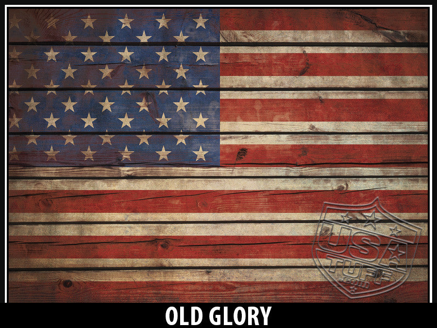 USATuff Yeti Cup Rtic Cup Old Glory Decal Skin Wrap