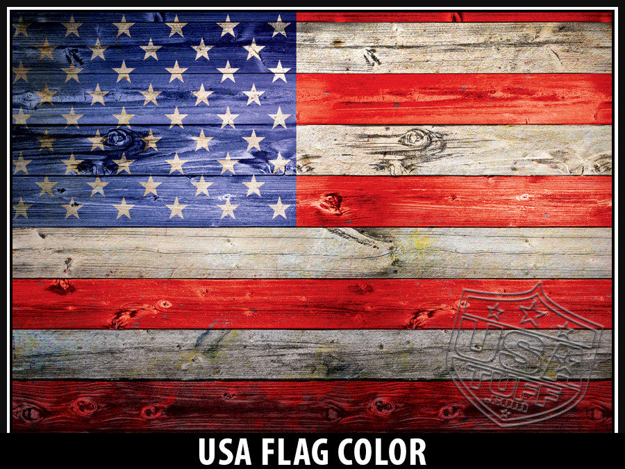 USATuff Yeti Cup Rtic Cup US Flag Color Decal Skin Wrap