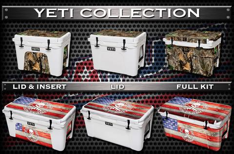 USATuff Cooler Wrap Cooler Skin Kit Decal For YETI Coolers