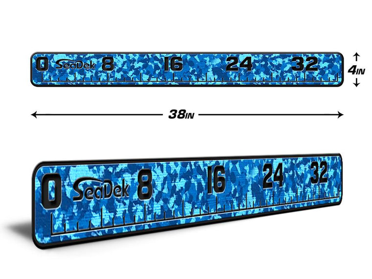 "USATuff Fish Ruler 16"" 24"" 36"" Gray Tan Blue Dark Green Black Snow Aqua Camo"