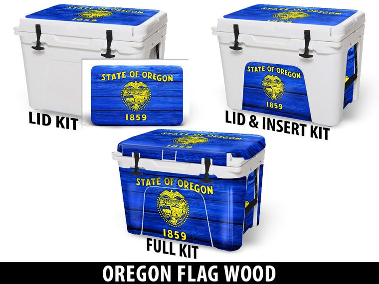 USATuff Cooler Accessories Ice Chest Graphic Sticker Decal Kits - Oregon