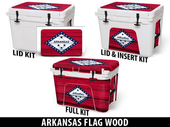 USATuff Cooler Accessories Ice Chest Graphic Sticker Decal Kits - Arkansas