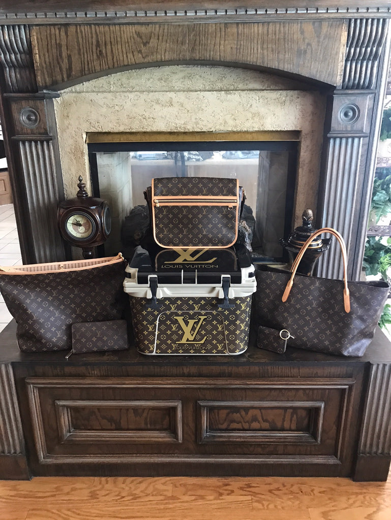 USATuff Custom Cooler Wrap Kit - Louis Vuitton