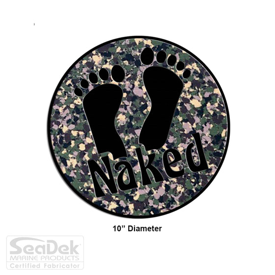 "SeaDek Traction Step Pad | 10"" Circle 