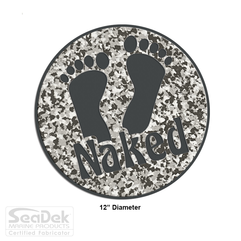 "SeaDek Traction Step Pad | 12"" Circle 