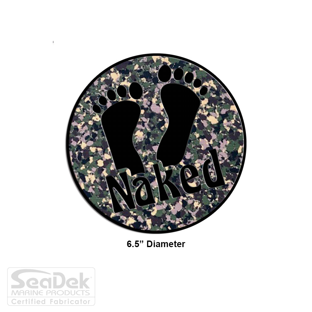 "SeaDek Traction Step Pad | 6.5"" Circle 