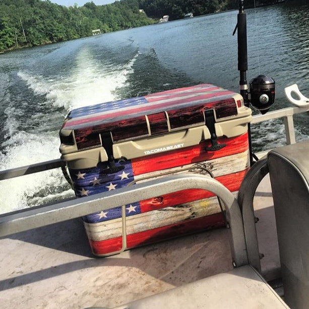 USATuff Custom Cooler Wrap Kit - Old Glory