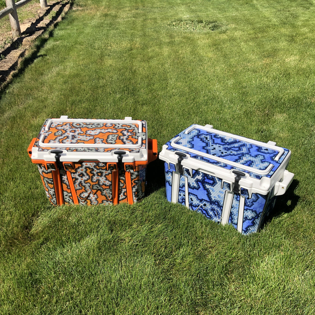 USATuff Cooler Accessories Ice Chest Graphic Sticker Decal Kits
