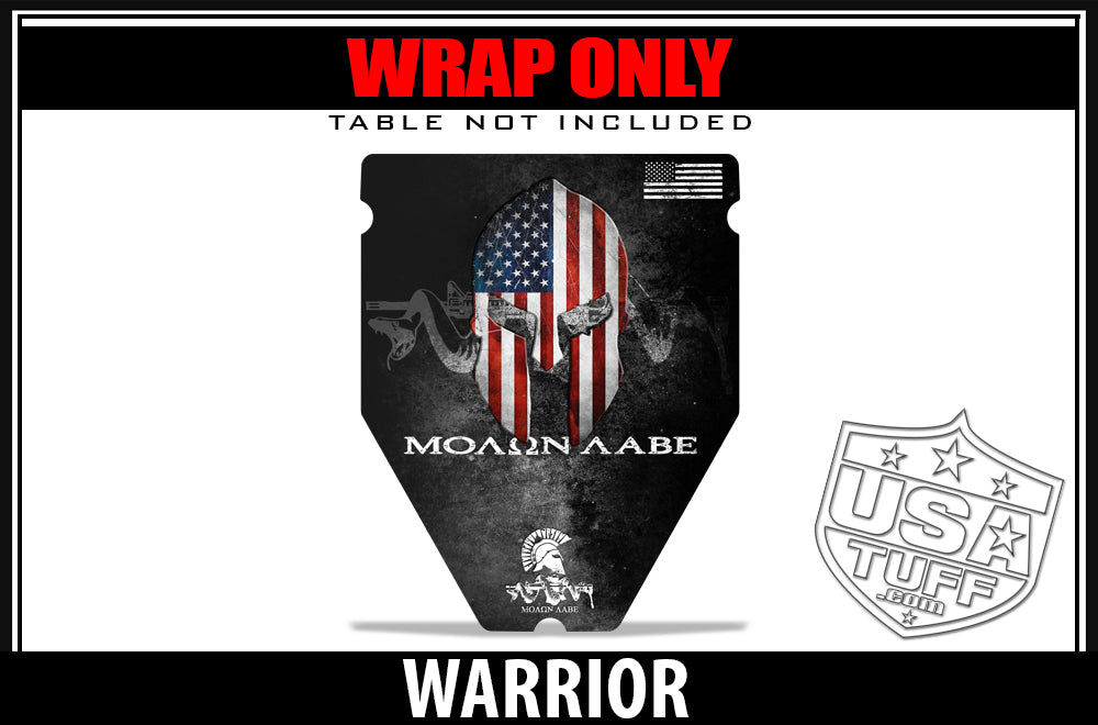 USATuff Shooting Table Accessories Wrap Decal - MTM Predator PST-11