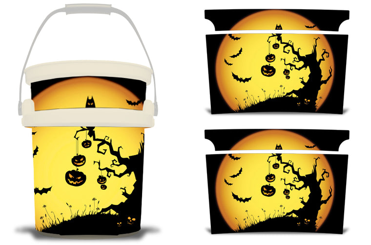 USATuff YETI Bucket Accessories Ice Bucket Graphic Sticker Decal Kits Pumpkin