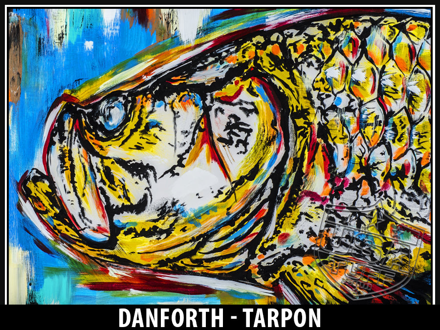 Tarpon by David Danforth - Cup Wrap