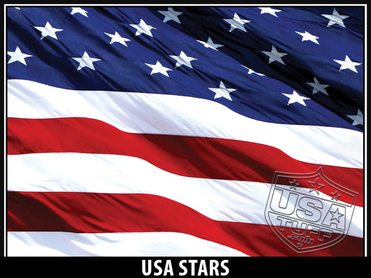 USA Tuff Tumbler Cup Wrap Kit for RTIC YETI USA Stars