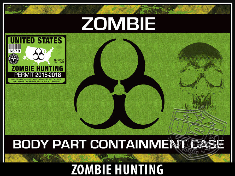 USA Tuff Tumbler Cup Wrap Kit for RTIC YETI Zombie Hunting