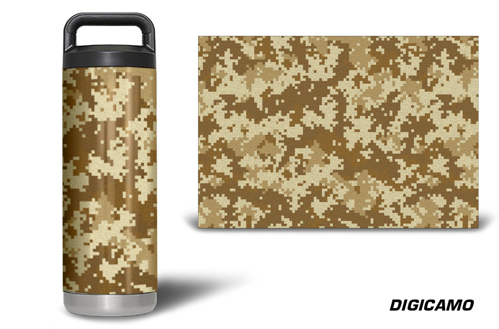 USATuff Tumbler Cup Wrap Kit for RTIC YETI - Digicamo