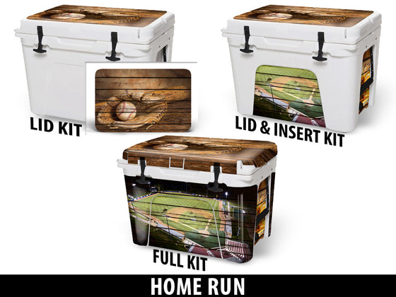 USATuff Cooler Accessories Ice Chest Graphic Sticker Decal Kits - Home Run