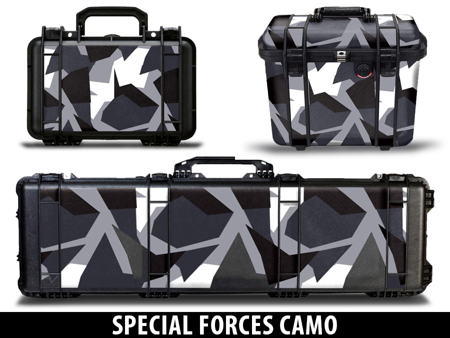 USATuff Pelican Gun Case Graphic Wrap Kit - Special Forces
