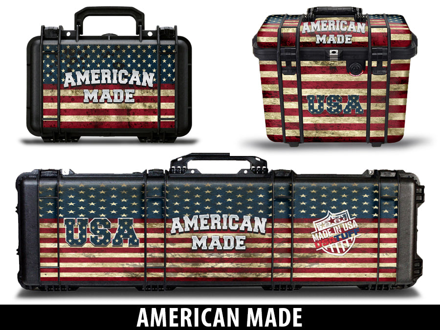 USATuff Gun Case Wrap Kit for PELICAN American Made