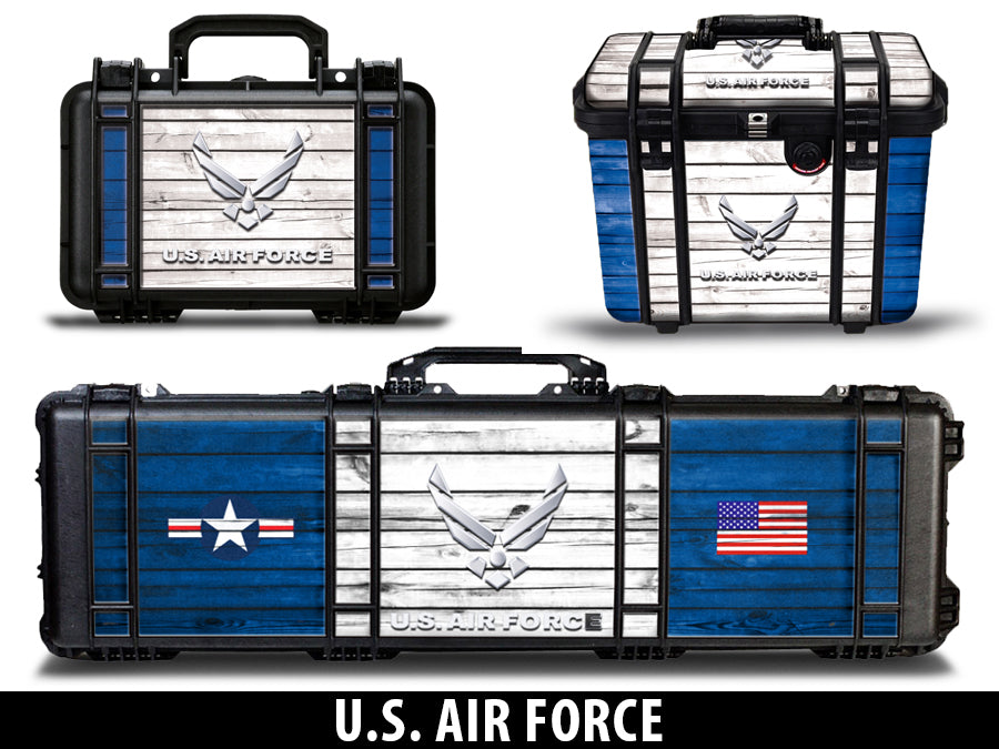 USATuff Pelican Gun Case Graphic Wrap Kit - US Air Force