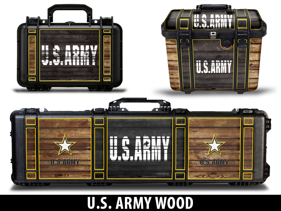 USATuff Gun Case Wrap Kit for PELICAN -US Army