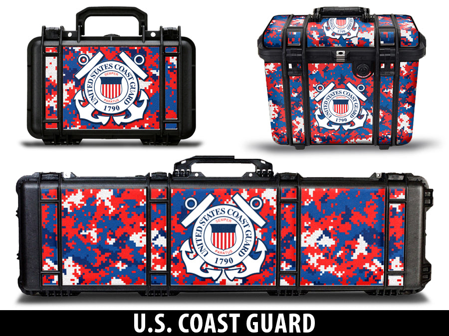 USATuff Gun Case Wrap Kit for PELICAN US Coast Guard Digicamo