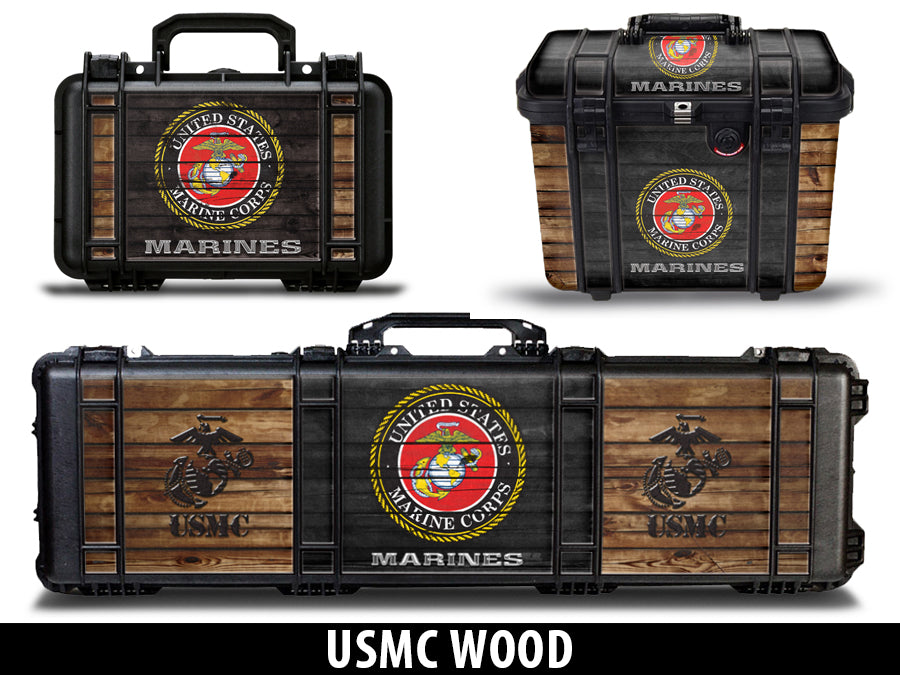 USATuff Gun Case Wrap Kit for PELICAN US Marine Corps