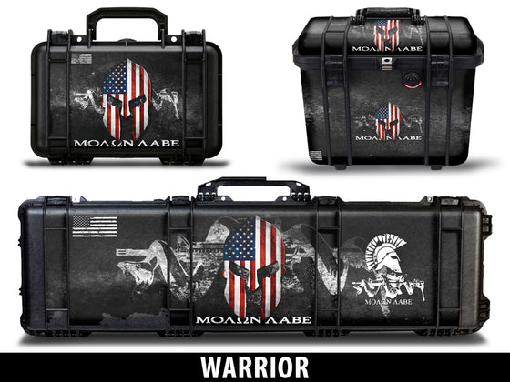 USATuff Gun Case Wrap Kit for PELICAN  - Warrior