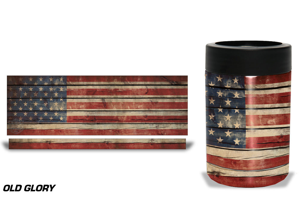 USATuff Tumbler Cup Wrap Kit for RTIC YETI - Old Glory