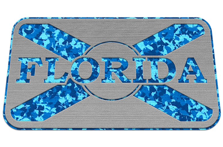 FLORIDA FLAG - SG/AQ