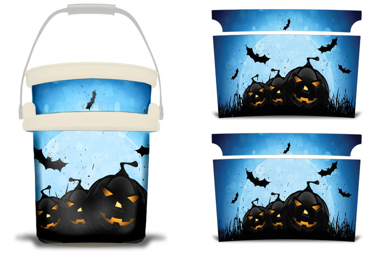 USATuff YETI Bucket Accessories Ice Bucket Graphic Sticker Decal Kits Graveyard