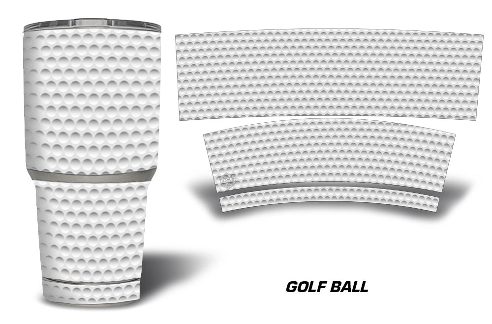 USATuff Tumbler Cup Wrap Kit for RTIC YETI - Golf