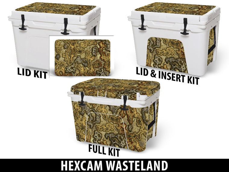 USATuff Cooler Accessories Ice Chest Graphic Sticker Decal Kits - Wasteland