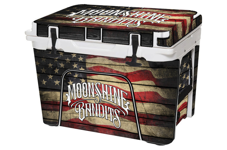 Moonshine Bandits Cooler Wrap